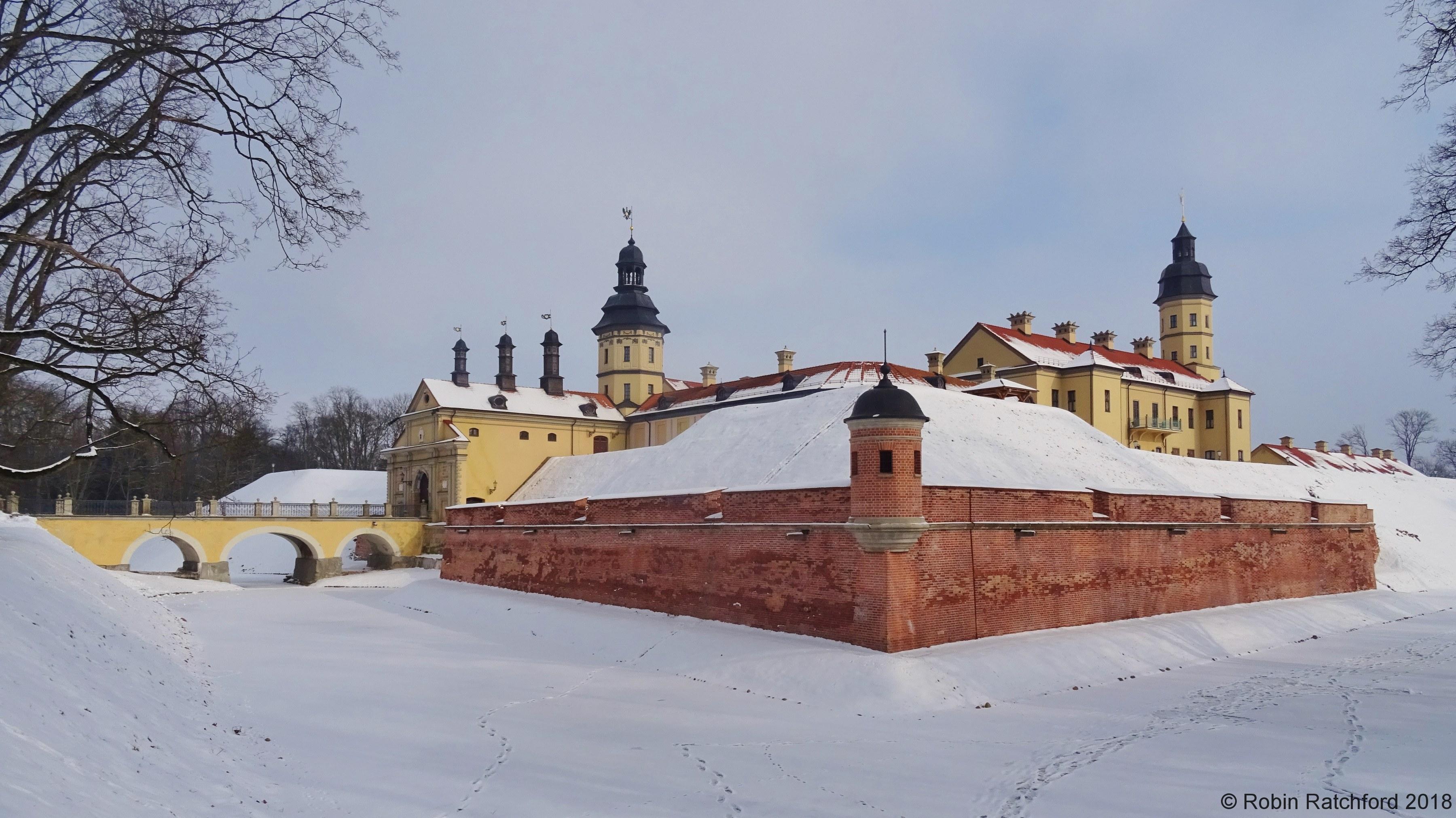 Nesvizh - the moat