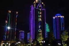 Grozny by night
