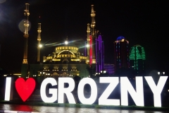 Grozny by night 2