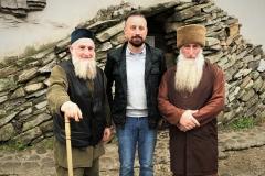Chechen locals