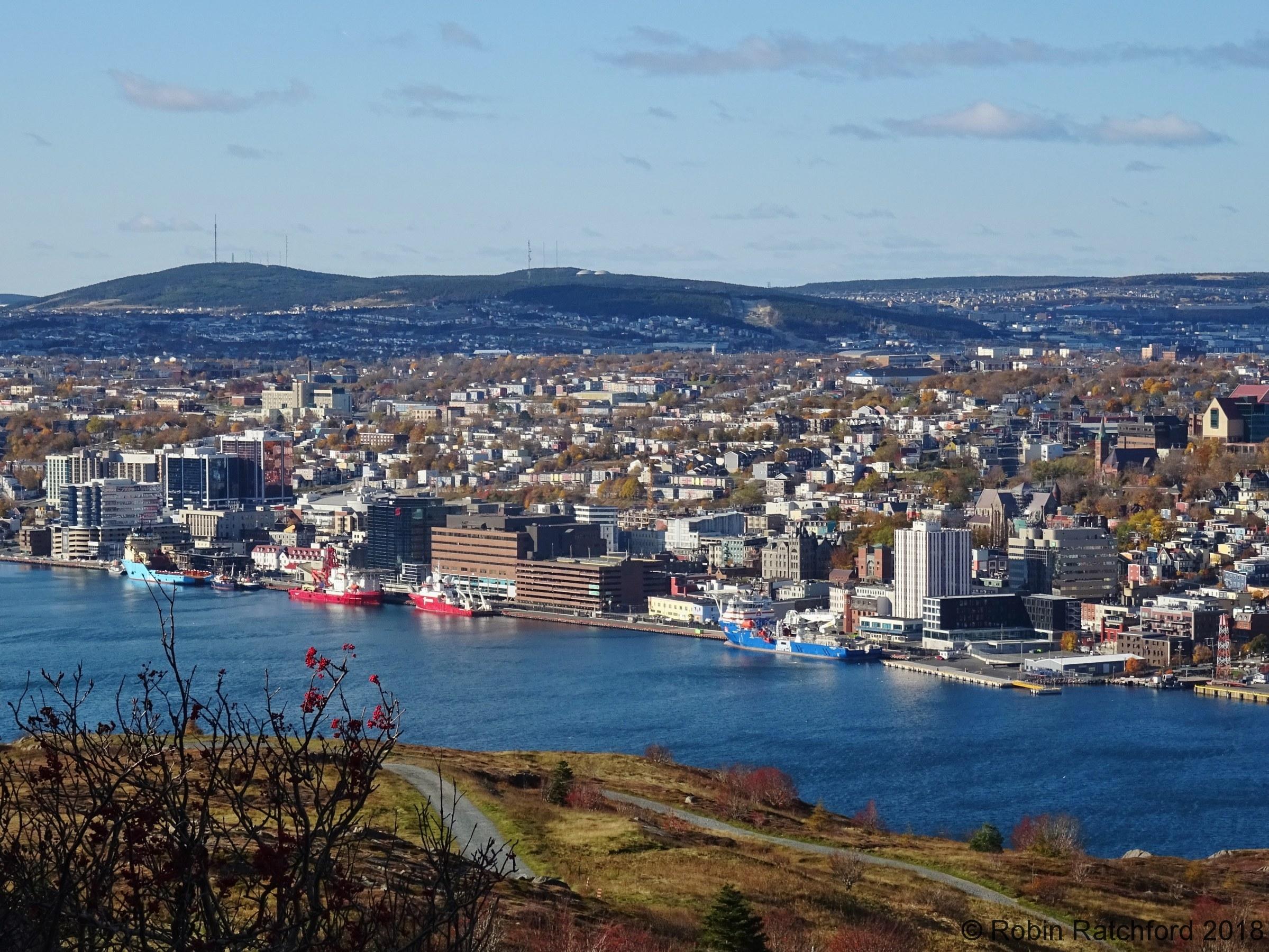 View of St John's