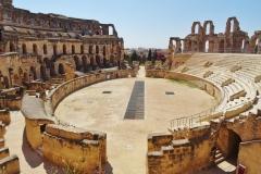 Roman theatre at Djem
